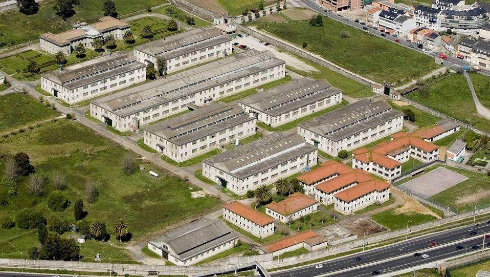 Imagen aérea de la fabrica de armas.