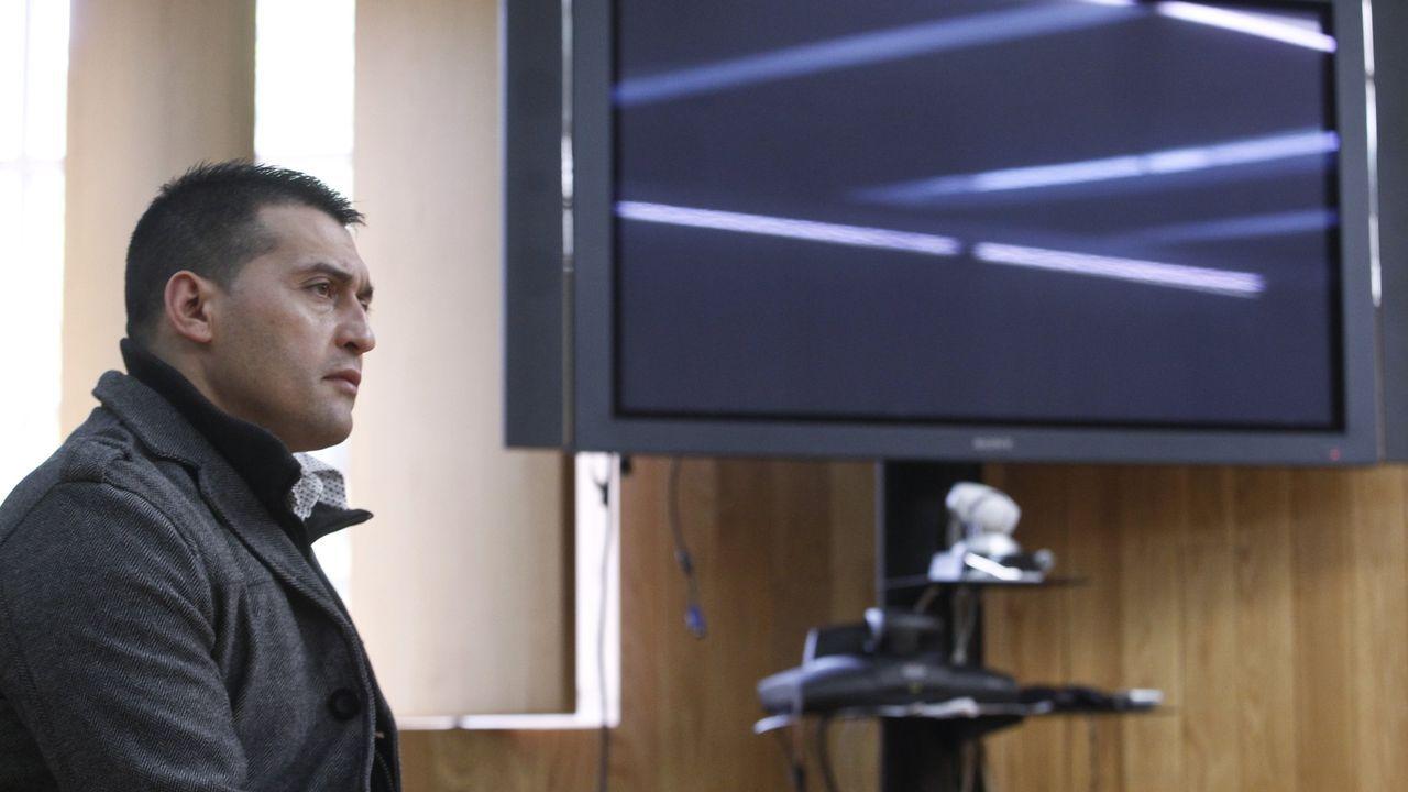 García Adán declarando en la Audiencia en el 2014
