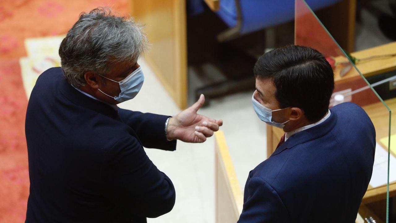 Pedro Puy fue revalidado cmo portavoz del PP en O Hórreo.