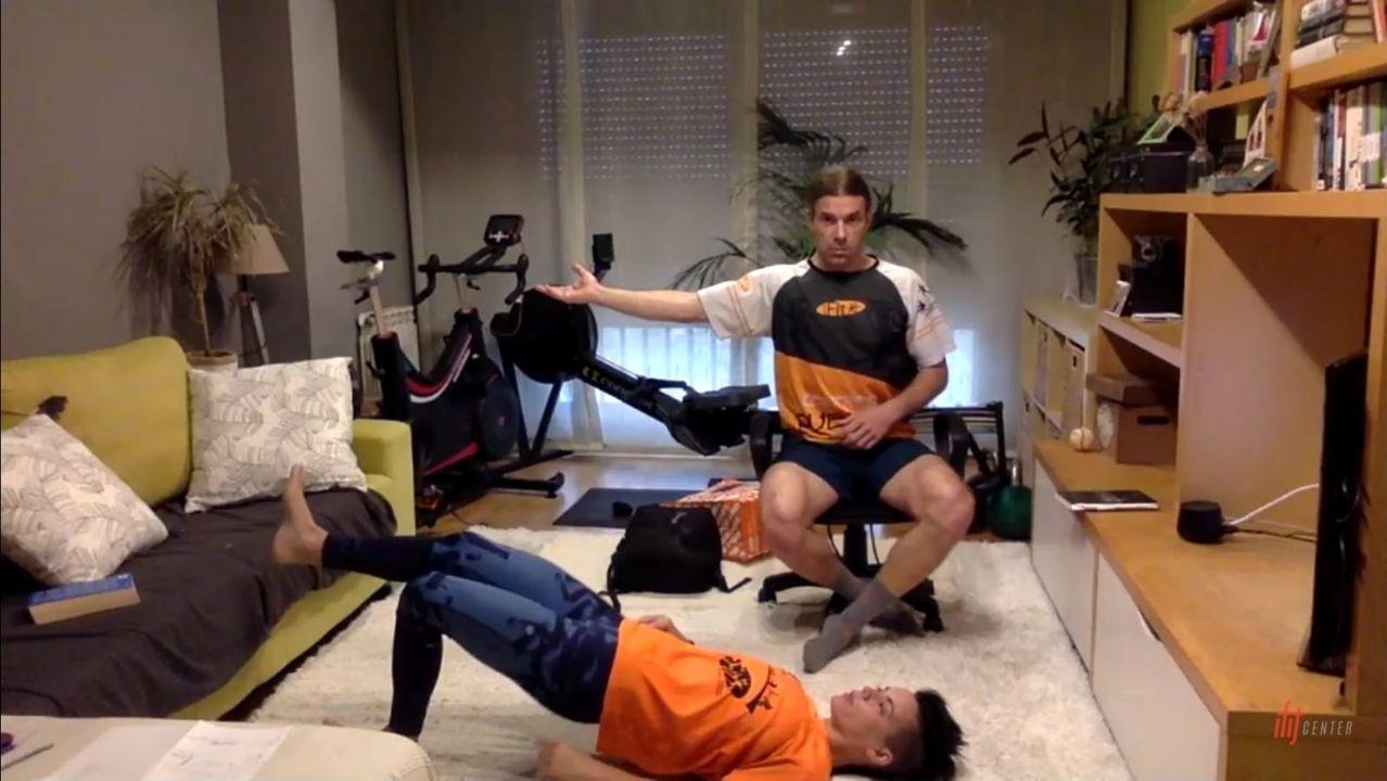 El vídeo de dos gijonesas que se ha vuelto viral.La OSG, durante un ensayo