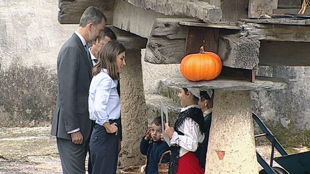 Todas las imágenes de la visita de los Reyes a Mual.Los Reyes en Mual