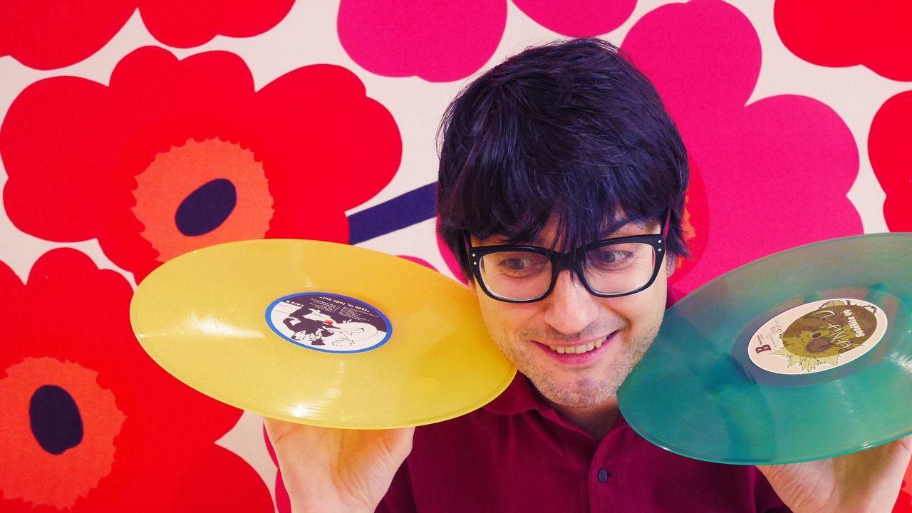 Javier Becerra, autor de «¡Eso es pop!»