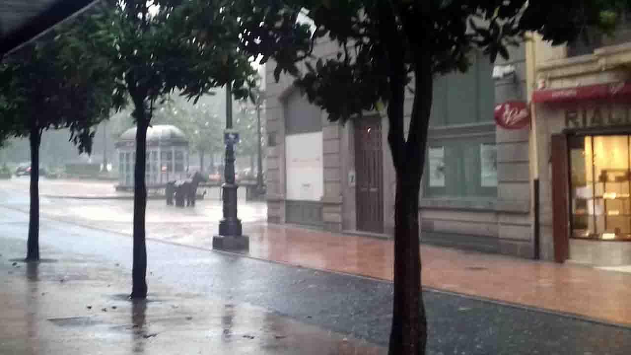 Cinco minutos para inundar la capital