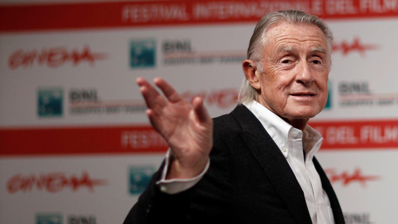 Schumacher, en el Festival de Cine de Roma, en el 2011