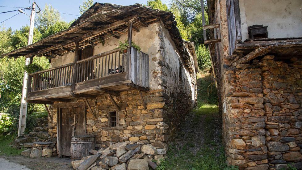 Construcciones tradicionales en Nogueira