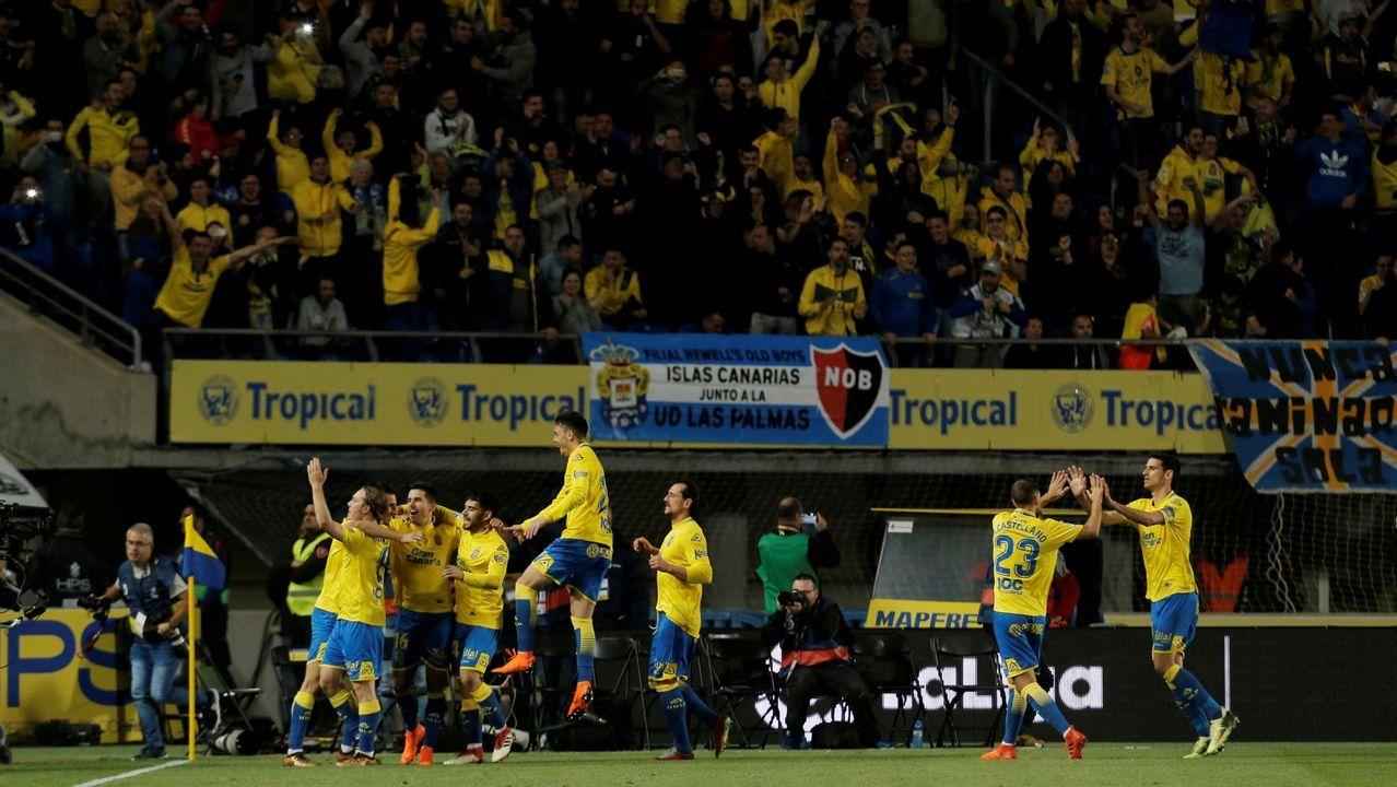 Las mejores imágenes del Celta - Las Palmas