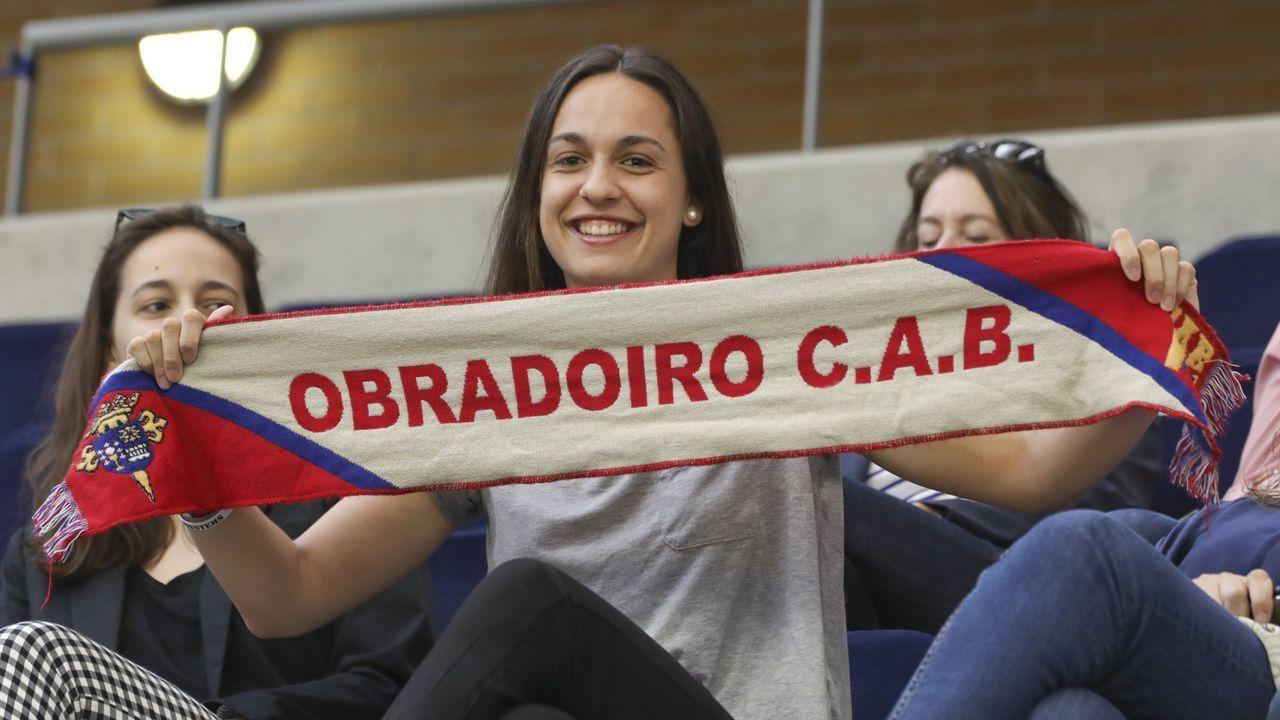 Las imágenes del partido entre el Cortegada y el Baxi Ferrol