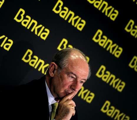 «El partido ya actuó, ahora le toca a los tribunales».Rodrigo Rato, durante la presentación de resultados de Bankia en febrero pasado.