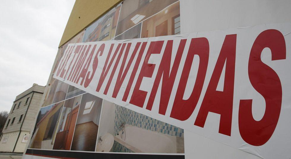 La banca tiene que dar salida a un buen número de viviendas procedentes de embargos.