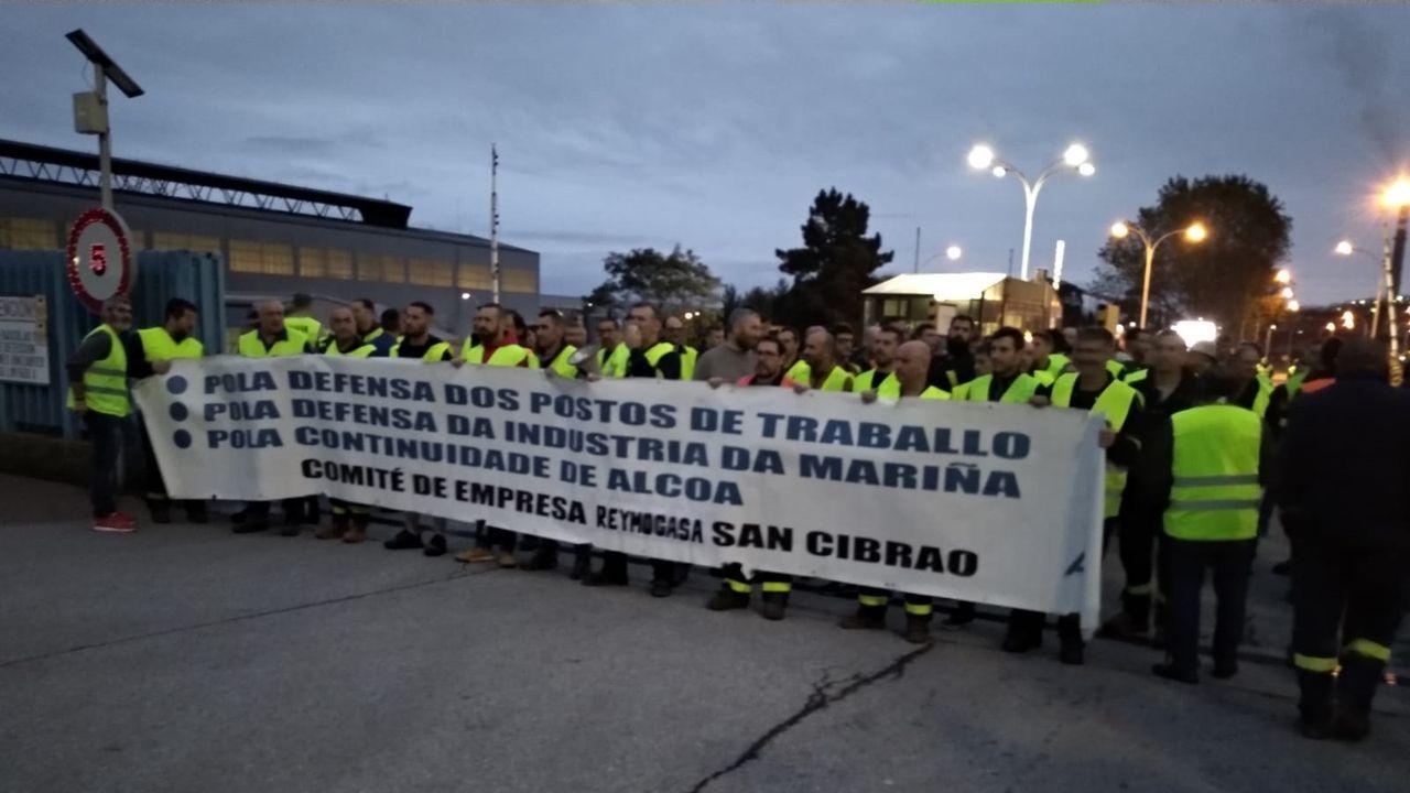 Tercera protesta de trabajadores de Reymogasa