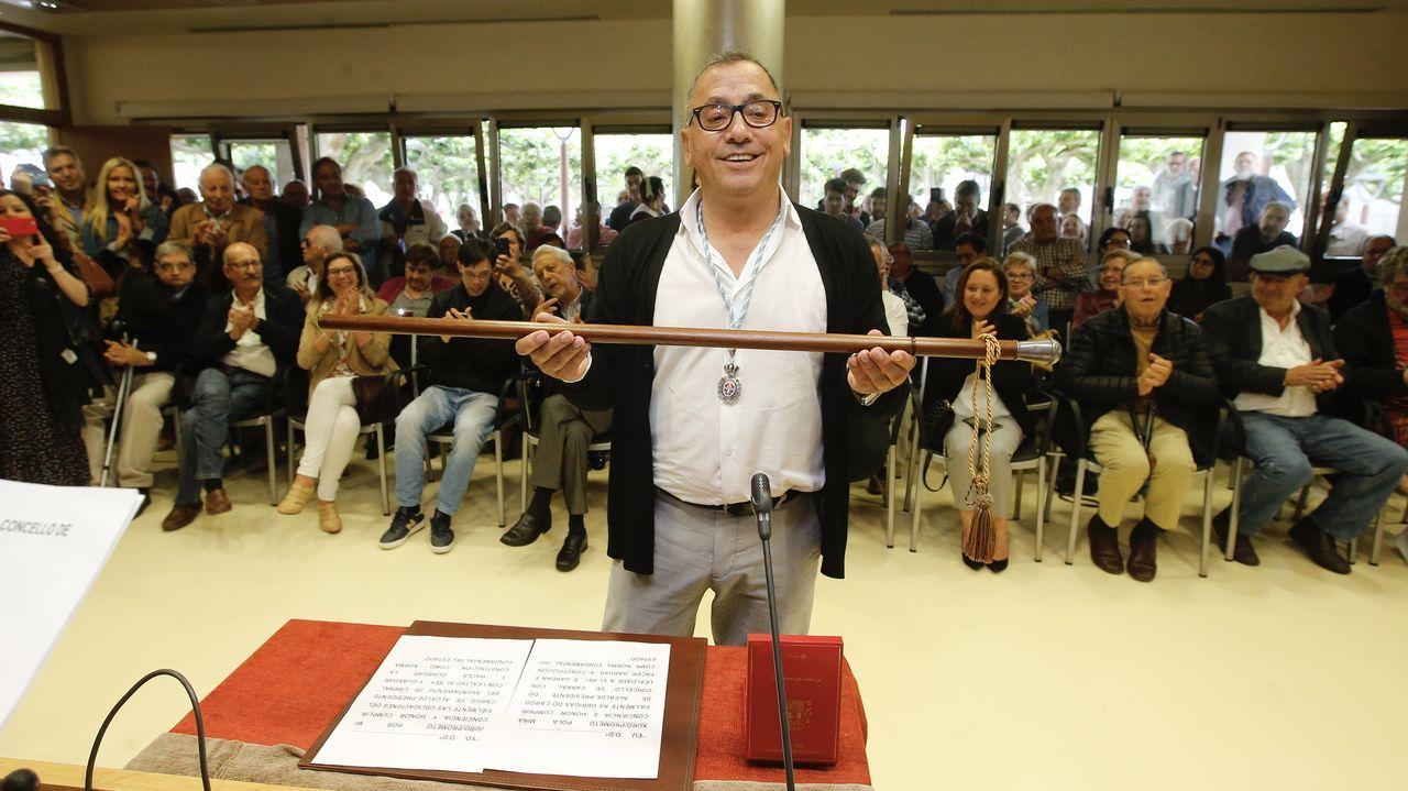 Javier Gestal (Alternativa dos Veciños) es el nuevo alcalde de Carral