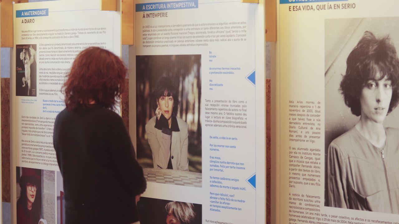 Colección Villagonzalo.«Xela Arias. Asinamos ser libres» pode verse ata o 31 de maio en Santiago