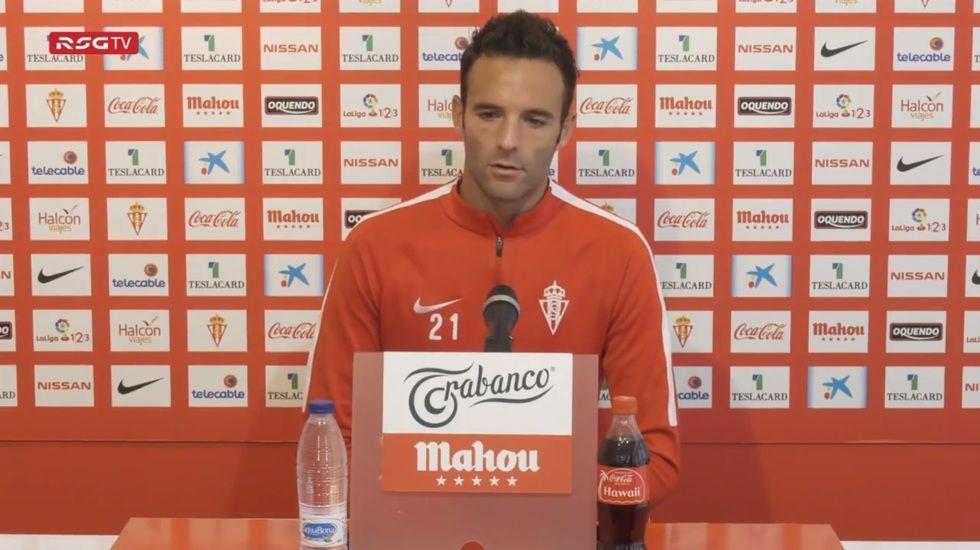Borja Viguera en rueda de prensa