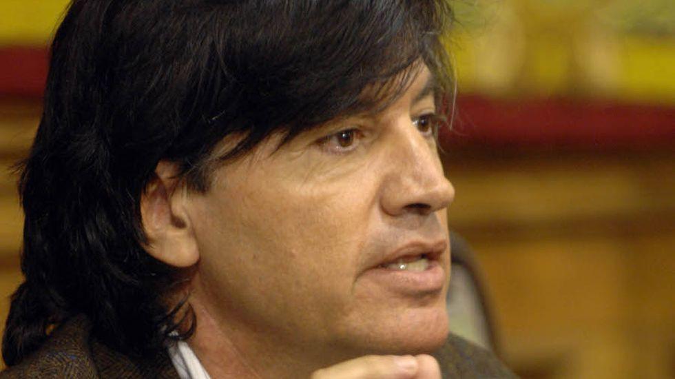 Los trabajadores del Reconquista revientan la rueda de prensa de presentación de Fitur.Carlos López-Otín