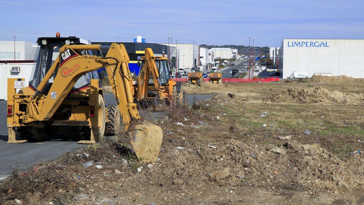 El concejal de Urbanismo, Xaquín Moreda (BNG), dio cuenta de los últimos pasos en la tramitación de la ampliación del polígono de O Vao