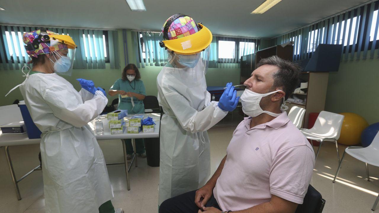 Cribado de coronavirus en Carballo
