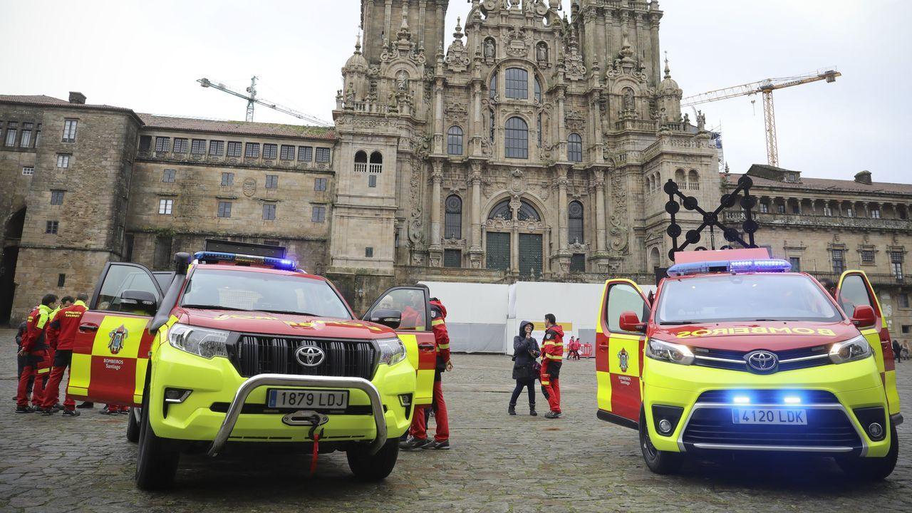 El segundo radar de Santiago, el de O Restollal, comenzó a multar ayer.