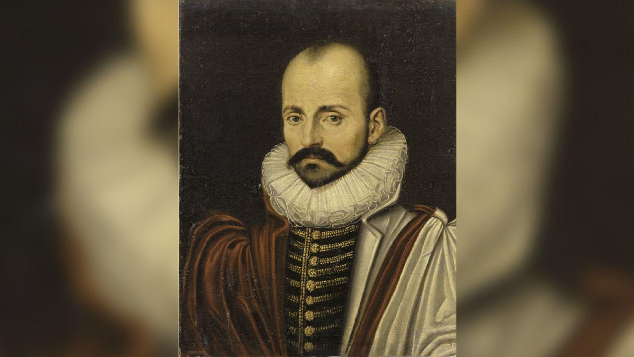 Retrato de Michel de Montaigne, datado en torno a 1570