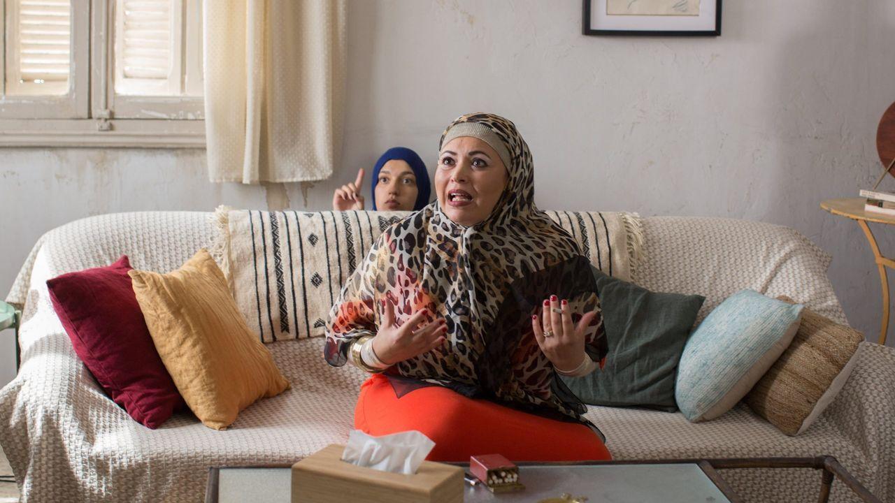 Fotograma del filme «Un diván en Túnez»