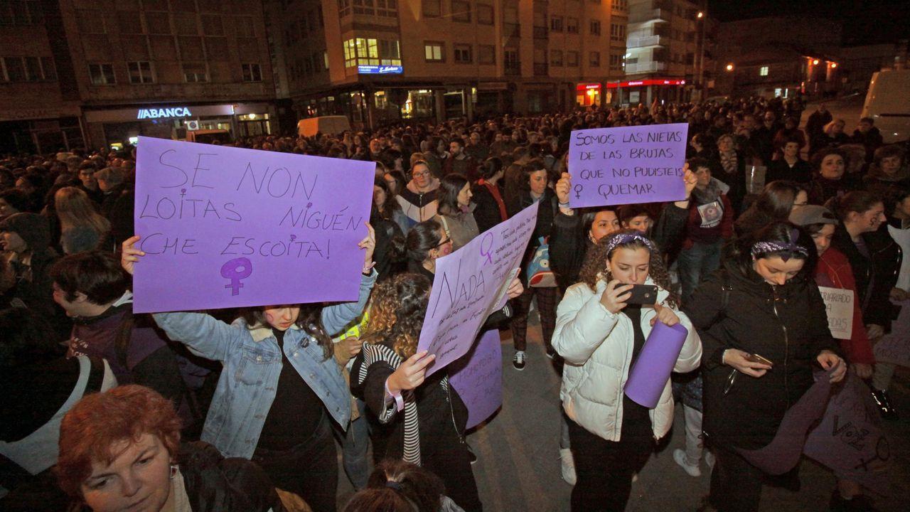 Imagen de archivo de una manifestación del 8M