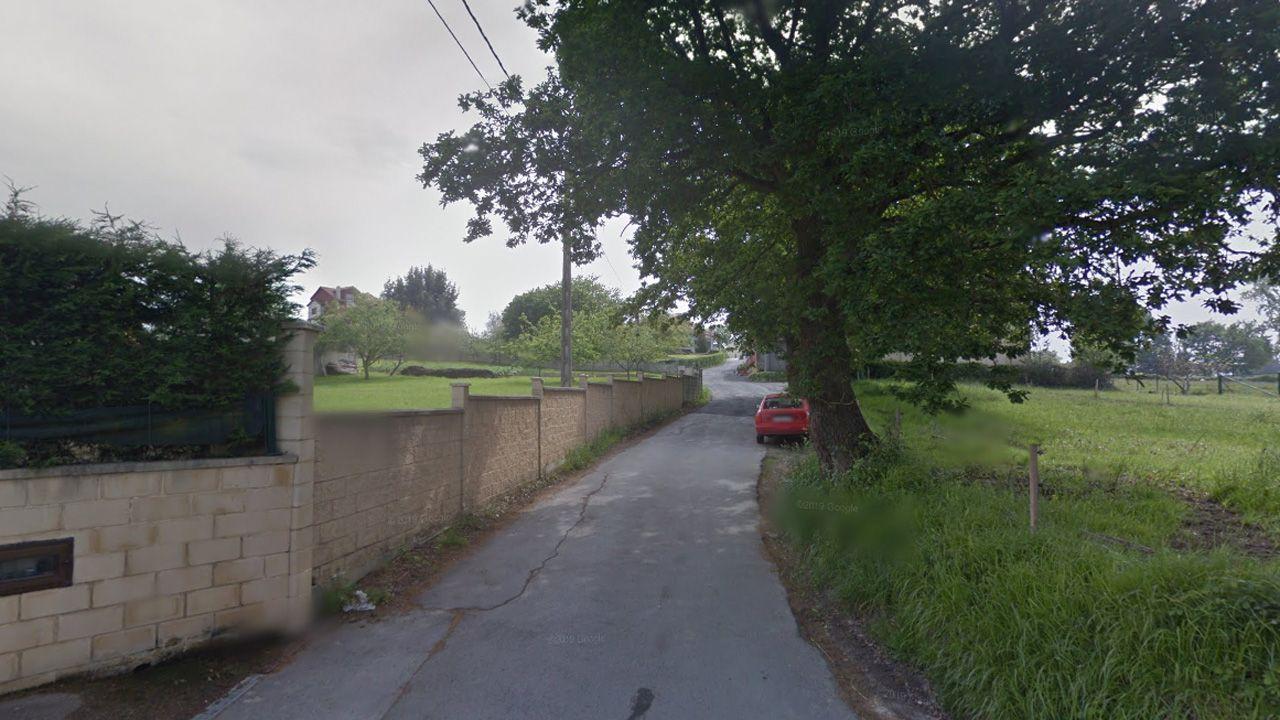 La carretera de Mudarri  en Xixún