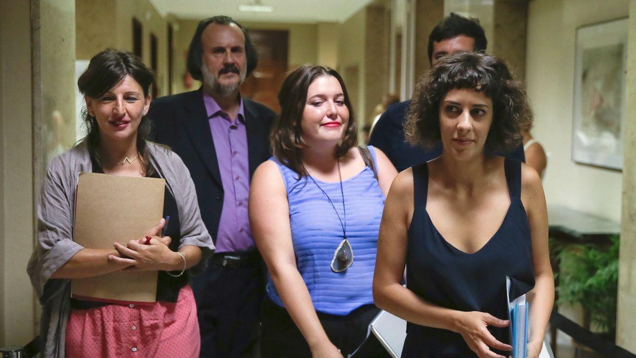 Grupo de En Marea en el Congreso de los Diputados