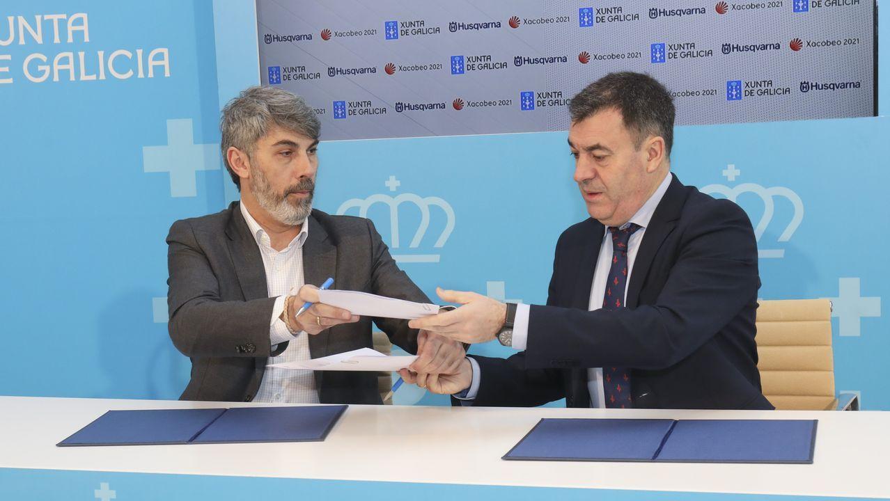 Asturias se reivindica en Fitur.El conselleiro Román Rodríguez