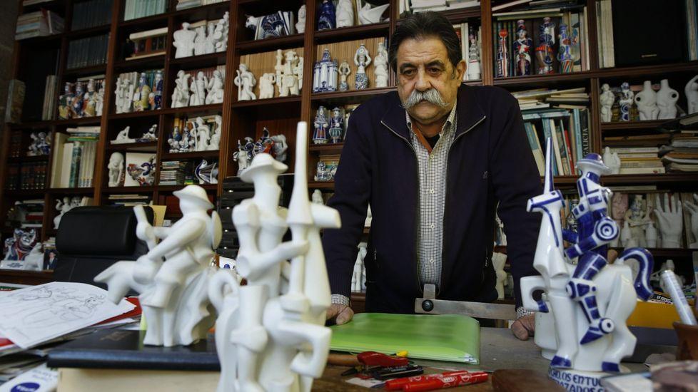 Mensaje de Gaspar en Santiago: «Seguide portándovos ben e mantede a ilusión».Comercio y turismo tienen un gran peso en la economía compostelana