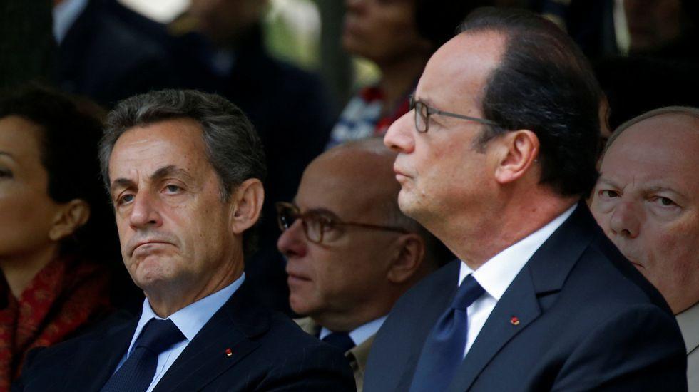 Los candidatos del Partido Socialista Francés.«Un aire de ministro chino». Sarkozy aseguró que Hollande se tiñe el pelo mal, igual que los dirigentes orientales.