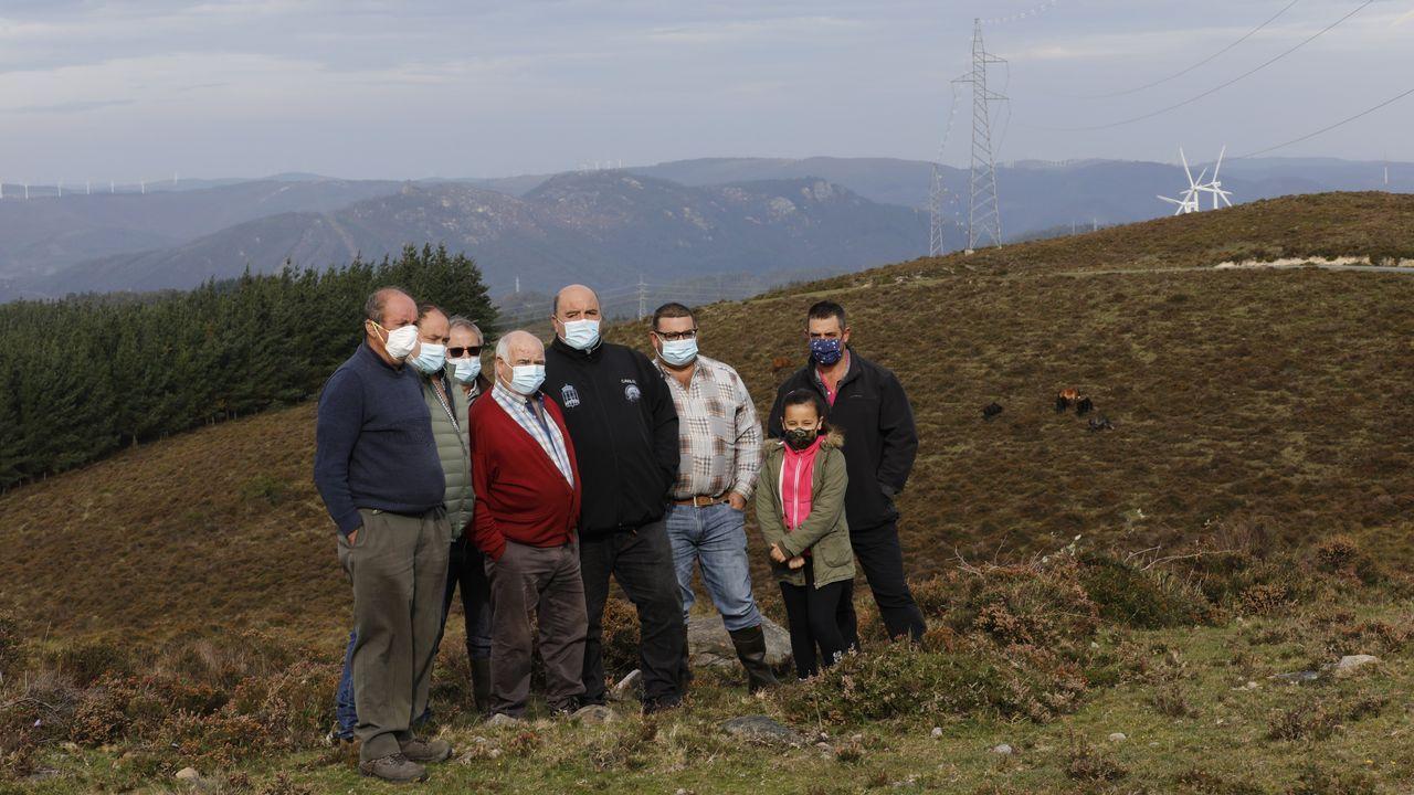 Ganaderos de la Comunidad de Montes de Miñotos