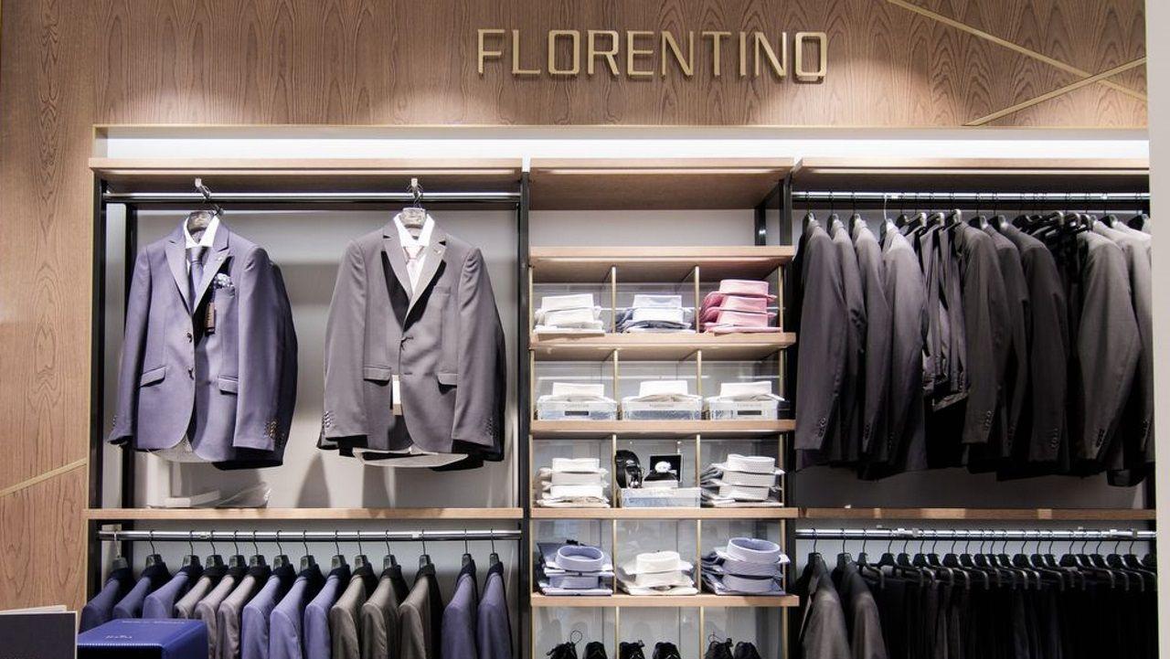 Cimavilla.Florentino diseña y fabrica ropa de caballero para un tipo de cliente medio-alto
