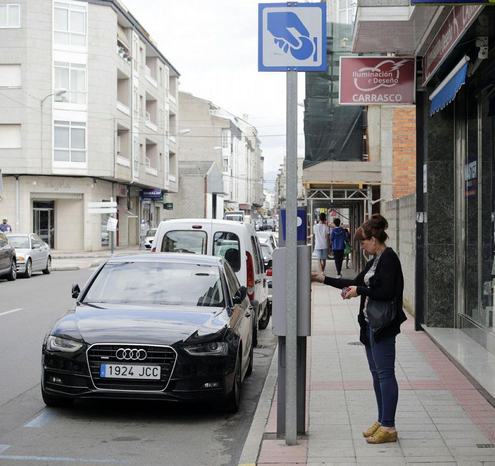 Tres céntricas calles de Verín están en la zona azul.