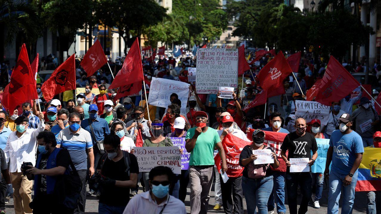 En Guayaquil se han convocado marchas en contra de las restricciones ocasionadas por el coronavirus