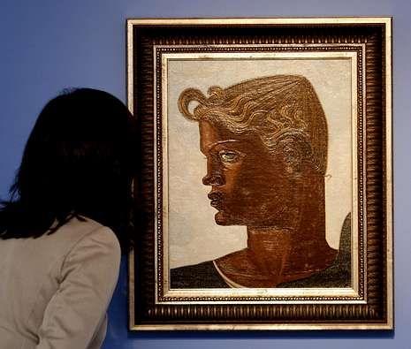 Obras de Lugrís, Leiro, Picasso, Dalí y Maruja Mallo de las colecciones de NCG Banco y la Fundación Novacaixagalicia.