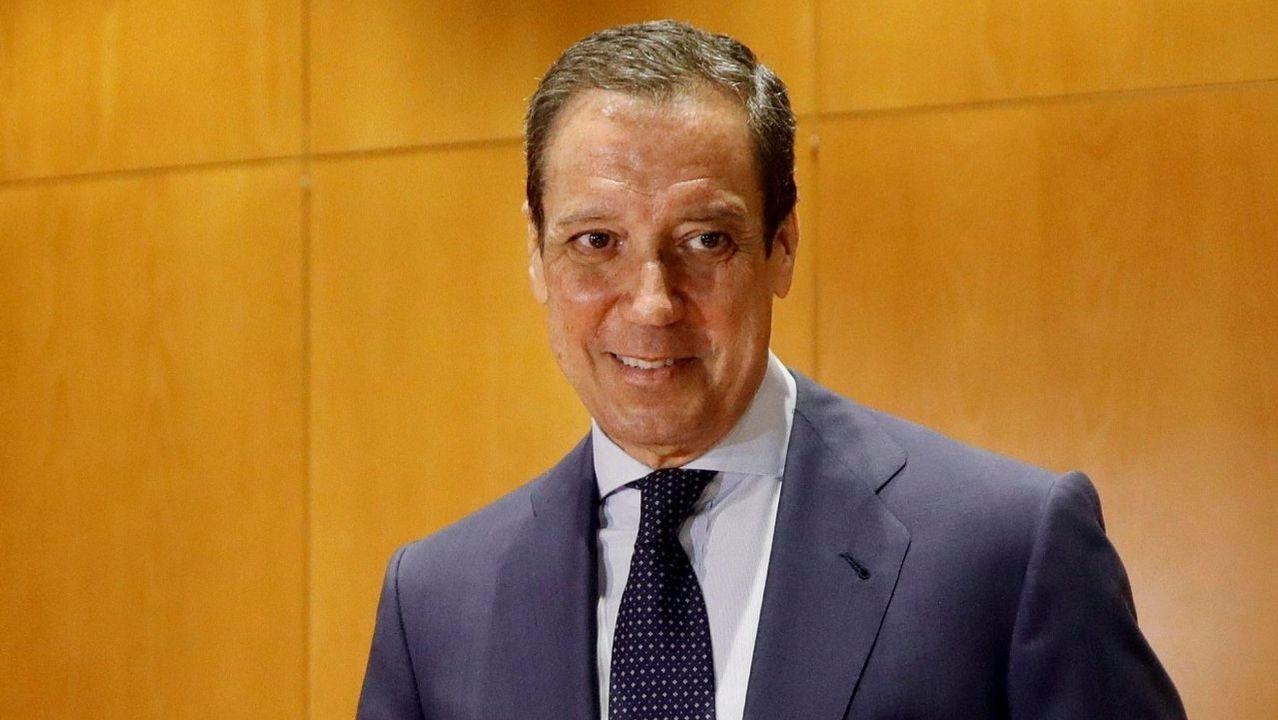 | EFE.Eduardo Zaplana, durante un registro el pasado mayo