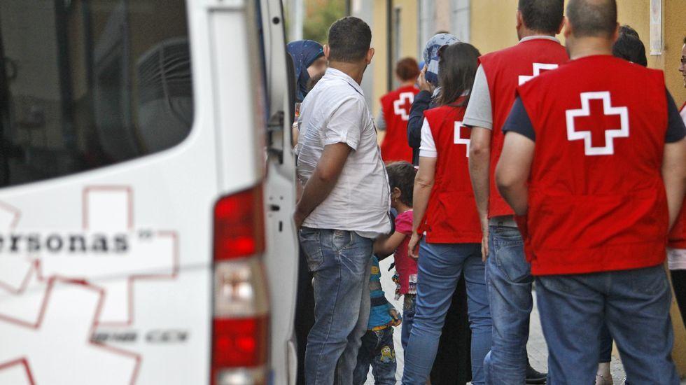Llegada de los primeros refugiados sirios a Galicia