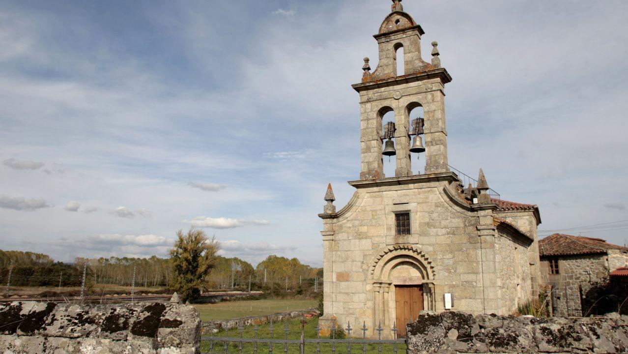 Las elecciones en Pontevedra en imágenes.La iglesia de San Pedro de Canaval fue la cabecera de la bailía o encomienda de los templarios en el actual municipio de Sober