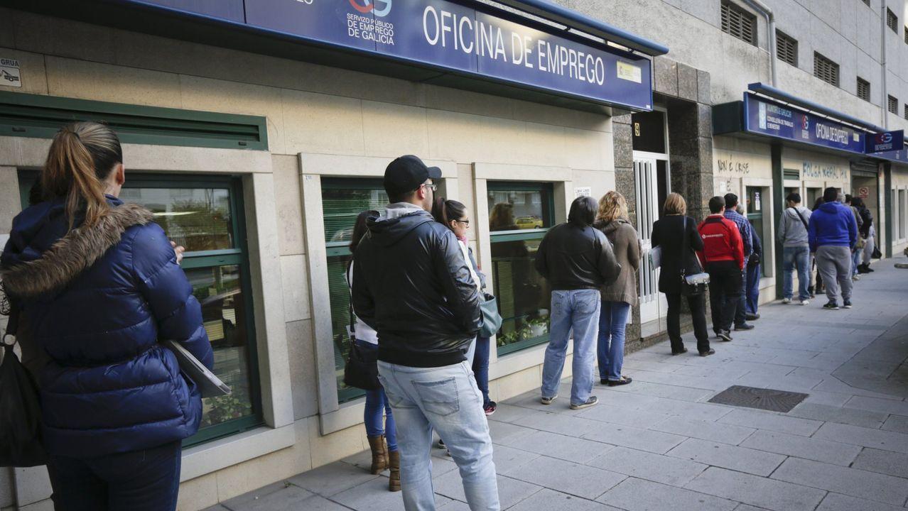 Oficina del SEPE en Ourense