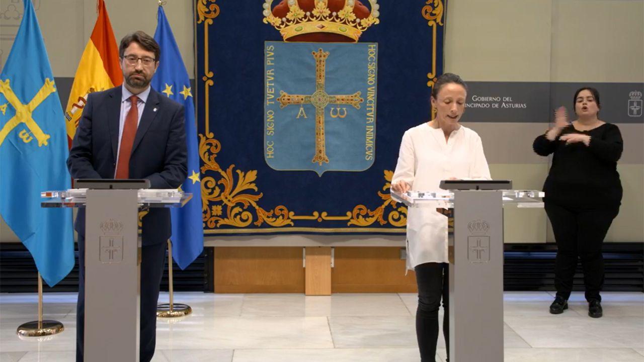 Enrique Fernández y Melania Álvarez