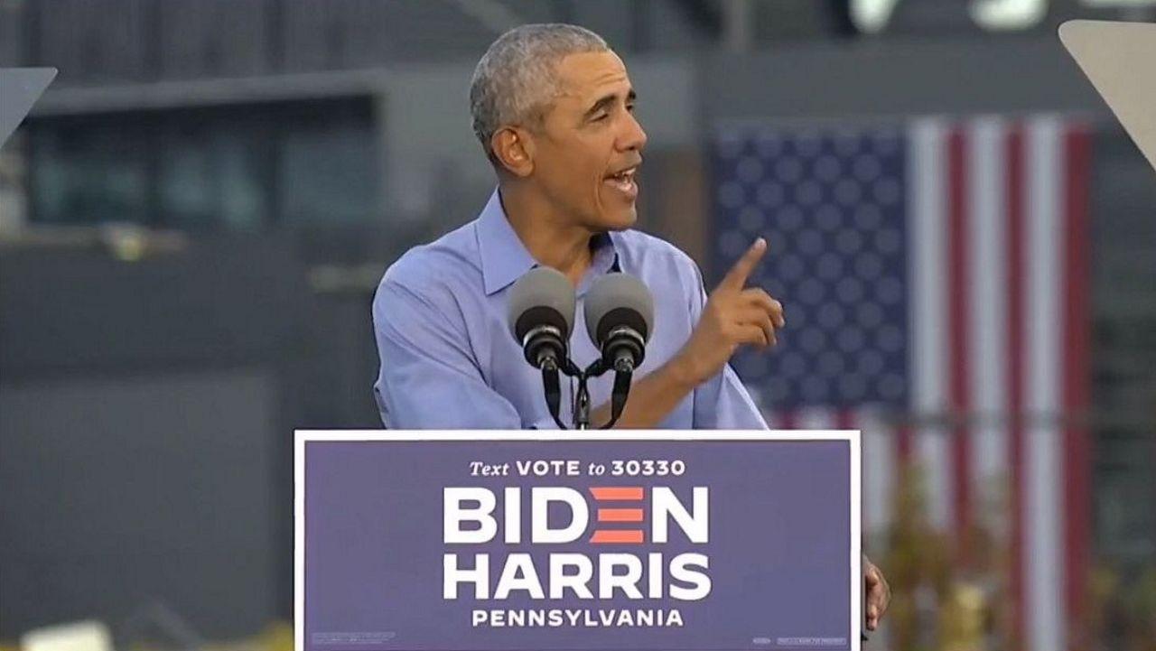 Captura de un video difundido por la campaña de Biden