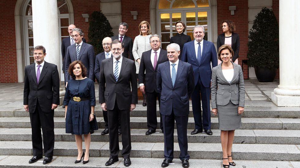 El nuevo Gobierno comienza su andadura.La presidenta del Consejo General de la Abogacía Española, Victoria Ortega.