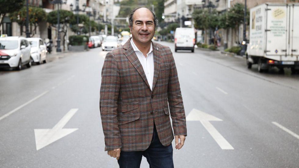 Cesáreo Pardal, presidente del Clúster de Turismo de Galicia, estará hoy en Cee