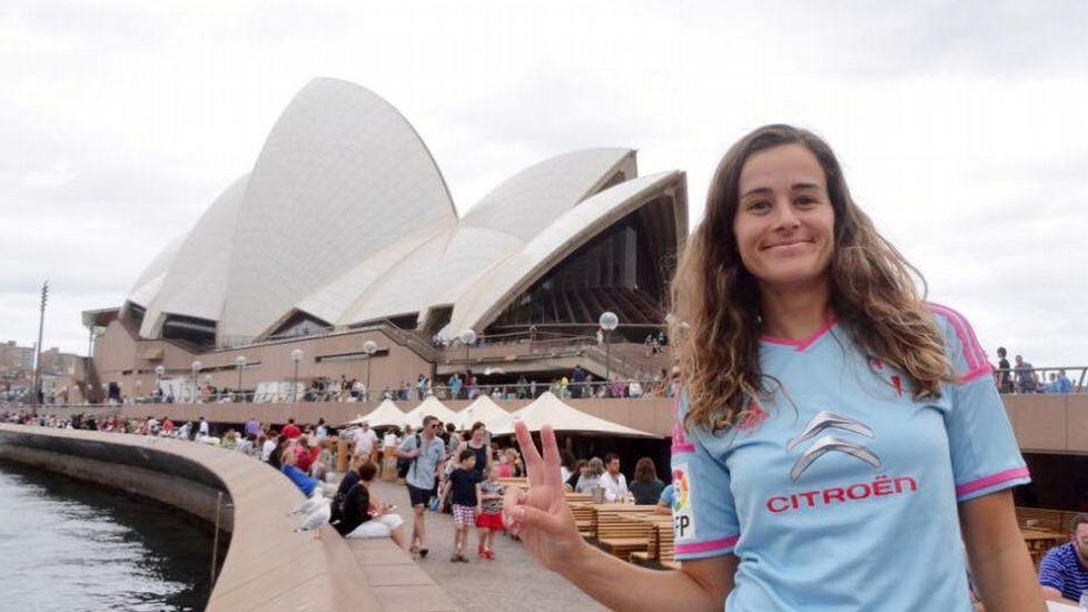 Marta Cobián, en la Ópera de Sydney