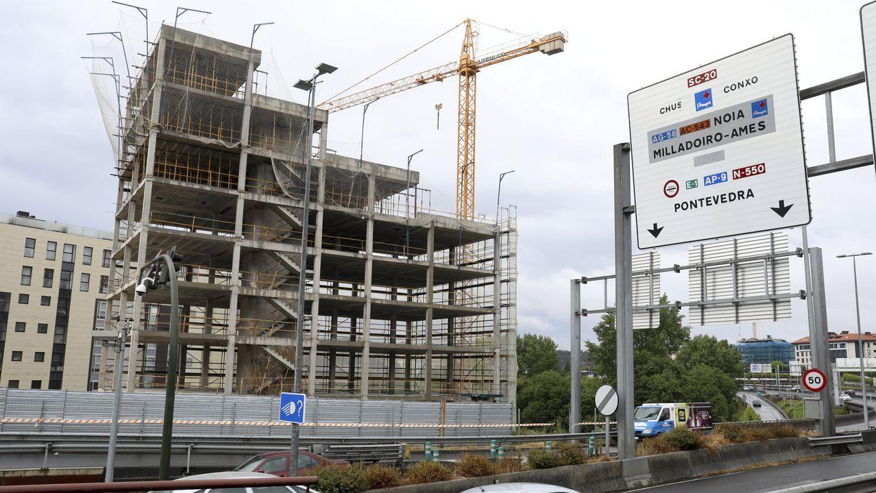 Muchas de las viviendas en construcción en la actualidad ya están vendidas.