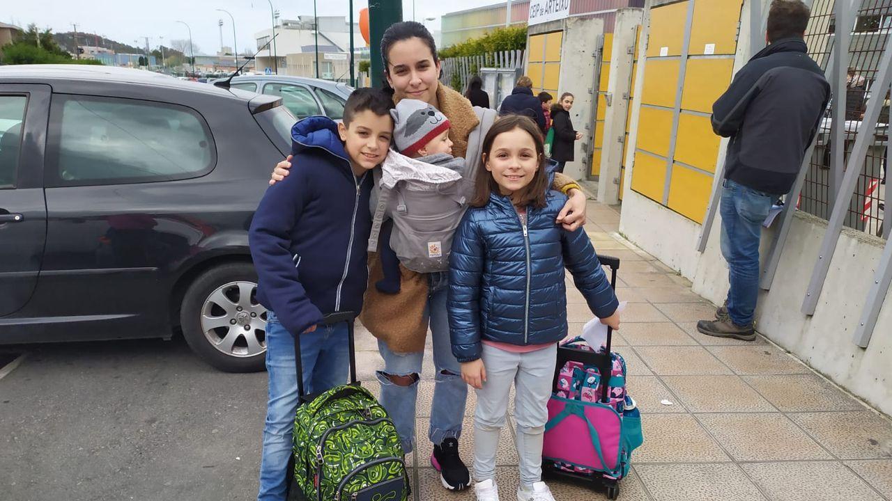 Florencia es autónoma y se organizará para quedarse en casa con sus tres hijos tras el cierre de los colegios