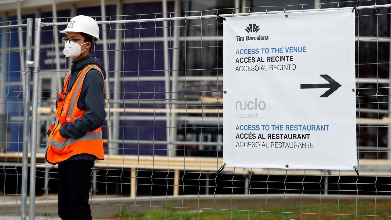 El Mobile se va, pero seguirá en Barcelona.Los componentes de la compañía ALiCE Biometrics. Abajo a la izquierda, Mikel Díaz