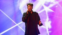 Blas Cantó durante su actuación