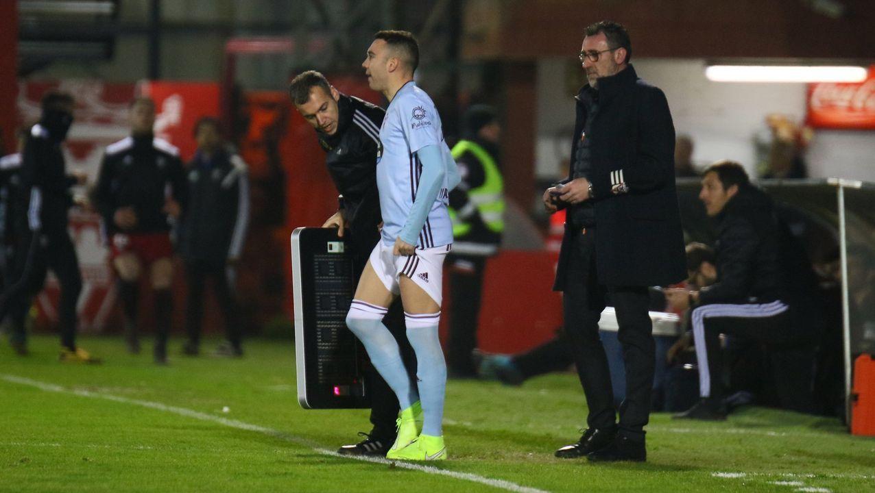 329 - Mirandés-Celta (2-1) de Copa el 23 de enero del 2020