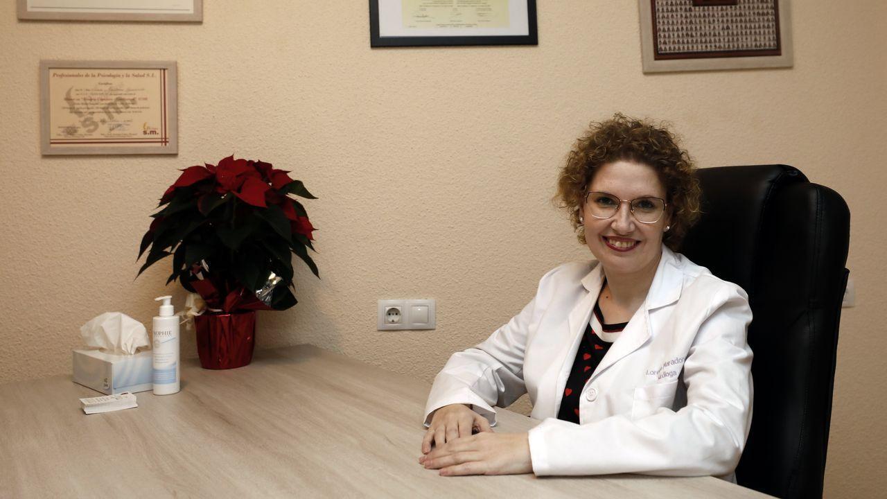 Colas en el hospital de Burela para hacer test de coronavirus