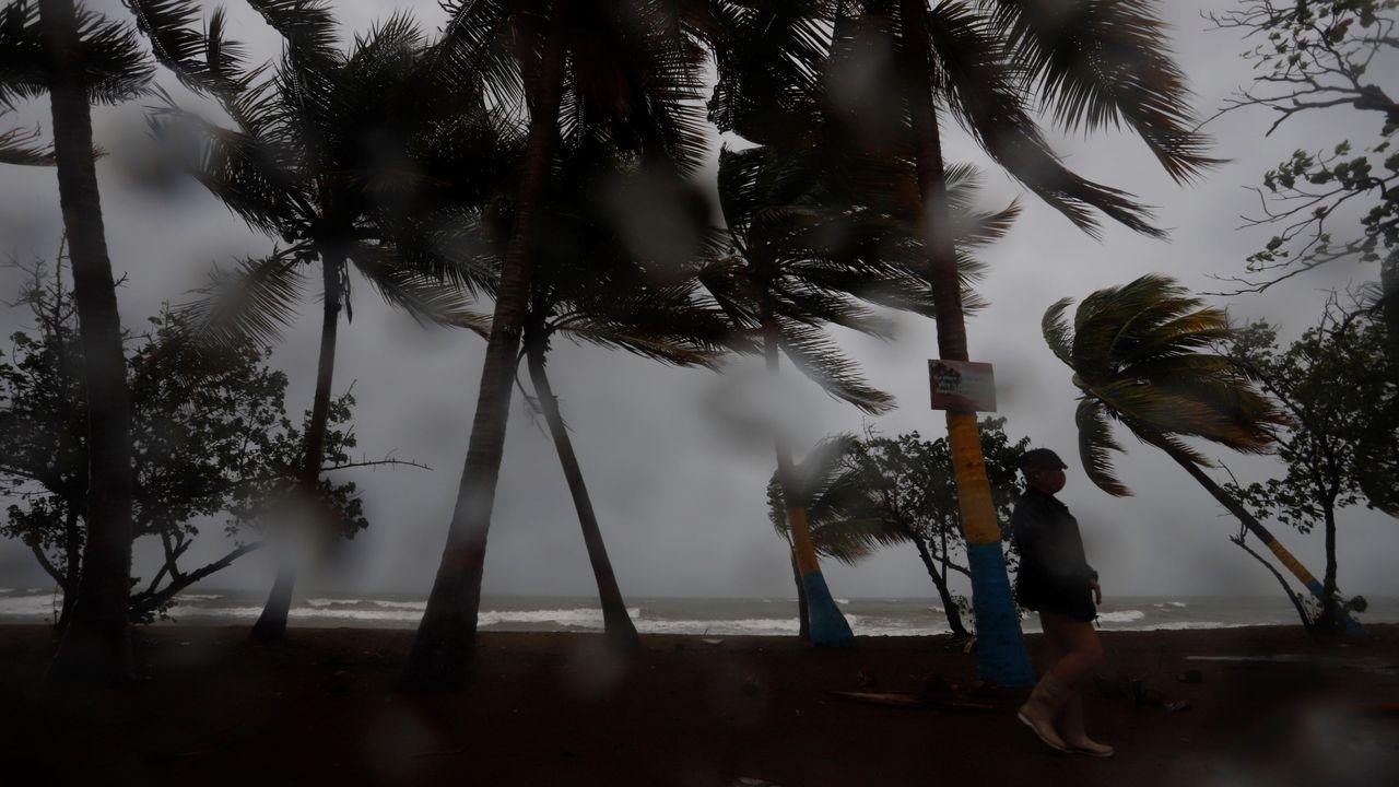 Zona en la que se va a actuar en A Ribeira.La tormenta tropical Laura causó graves inundaciones en la República Dominicana, donde murieron tres personas